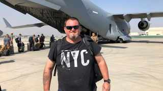 Somerset West resident Allen Ferguson, 53, escaped from Kabul amid the withdrawal ofUS and NATO forces from the War in Afghanistan.