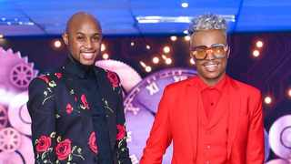 Somizi Mhlongo and Mohale Motaung. Picture: Instagram