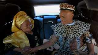 Somizi with his mother Mary Twala. Picture: YouTube