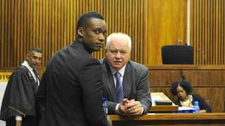 Son of former president Jacob Zuma, Duduzane Zuma, with his counsel Advocate Mike Hellens SC at the Randburg Magistrates Court. Picture: Karen Sandison/African News Agency(ANA)