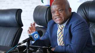 South Africa - Durban - 16 December 2019 KZN Premier Sihle Zikalala addressing the Media about the festive season at The Marine Building on 16 December 2019 Picture: Sibonelo Ngcobo/African News Agency(ANA)