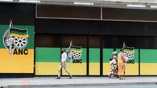 South Africa - Johannesburg - 04 March 2021 - Pedestrians walks pass the African National Congress (ANC) building in Johannesburg, it is alleged that the party's employees have not received their February salaries. File photo: Itumeleng English/African News Agency(ANA)