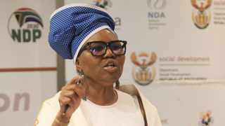 South Africa - Pretoria - 23 January 2020 - Social Development minister Lindiwe Zulu during the ministerial launch: gr 12 class of 2019 academic performance of social grant beneficiaries.Picture: Jacques Naude/African News Agency(ANA)