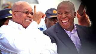 South Africa and social media were stunned last night, when EFF leader Julius Malema took to Twitter to ask former president Jacob Zuma to meet him for tea. Picture:Matthews Baloyi