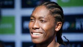 South Africa's Caster Semenya is writing and autobiography. Picture: Phill Magakoe/AFP