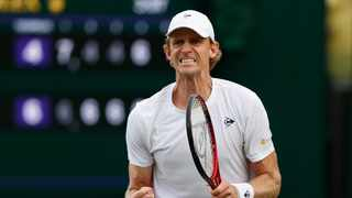 South Africa's Kevin Anderson is looking forward to meeting up with world number one Novak Djokovic in the second round of Wimbledon. Photo: Adrian Dennis/AFP