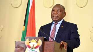 South Africa will move to adjusted Level 4 as the country is faced with a rising number of Covid-19 infections dominated by the more transmissible Delta variant, President Ramaphosa said on Sunday. Picture: GCIS