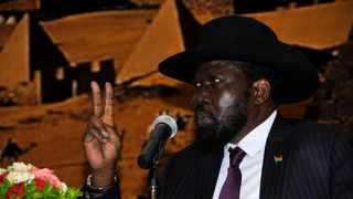 South Sudan gained independence in 2011, but descended into civil war four years ago when President Salva Kiir (pictured) accused his deputy Riek Machar of trying to oust him. Picture: Xinhua/Mohamed Khidir