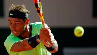Spain's Rafael Nadal in action during his French Open first round match against Australia's Alexei Popyrin. Photo: Gonzalo Fuentes/Reuters