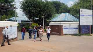 Staff members at Jubilee District hospital grappling with Covid-19 cases. Picture: Oupa Mokoena/African News Agency (ANA)