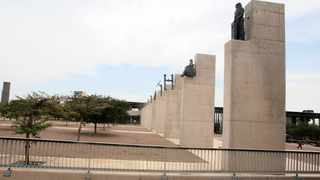 Statues commemorating rights from several clauses of the Freedom Charter at the Walter Sisulu Square in Kliptown, Soweto.  File picture: Dumisani Sibeko/African News Agency (ANA)