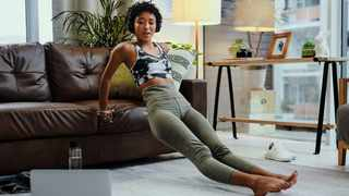 Staying in shape throughout the colder months has never been easier – all you need is a chair and a few minutes out of your day Picture: Supplied