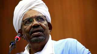 """Sudan's defence minister said that President Omar al-Bashir had been detained """"in a safe place"""" and that a military council would run the country for a two-year transitional period. Picture: Reuters/Mohamed Nureldin Abdallah"""