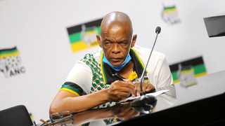 Suspended ANC secretary-general Ace Magashule Picture:Nokuthula Mbatha/African News Agency(ANA)