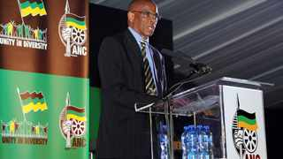 Suspended secretary-general Ace Magashule. Picture: GCIS/SAPA