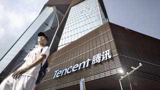 TENCENT'S share price in Chinese renminbi (or yuan) grew by about 29 percent per year over the past 11 years. Picture: Bloomberg.
