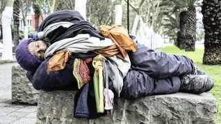 THE CCID campaign aims to educate people about issues faced by homeless people. Picture: Dylan Jacobs/African News Agency (ANA)
