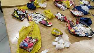 THE drugs allegedly found in the lawyer's possession. Picture: SAPS