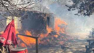 THE employees of the Rhodes Memorial Restaurant and Tea Garden which was gutted in last week's wild fire are bracing for the impact the destruction will have on their livelihood. Picture: Supplied