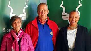TMNP newly appointed Park Forum office bearers. From left: Nicky Schmidt, Stephen Floyd and Merinda Hill.
