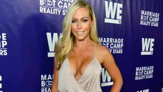 TV personality Kendra Wilkinson attends the premiere party for the third season of Marriage Boot Camp Reality Stars hosted by WE tv at HYDE Sunset: Kitchen + Cocktails on May 28, 2015 in West Hollywood, California.