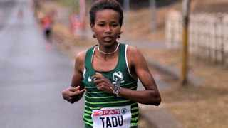 Tadu Nare said she found it easy to run in South Africa after training at altitude in Ethiopia. Picture: Supplied