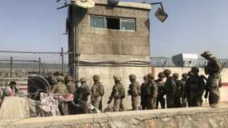 Taliban deployed a unit of special forces at the main gate of the airport about two weeks ago. Picture: IANS