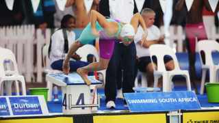 Tatjana Schoenmaker cotinues her preparations for the Olympics in Gqeberha from Wednesday. Picture: Motshwari Mofokeng/African News Agency (ANA)