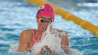 Tatjana Schoenmaker during day one of the first 2021 SA National Aquatic Championships. Photo: Deryck Foster/BackpagePix