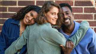 Thalissa Teixeira, Ariane Labed and Gary Carr star in 'Trigonometry'. Picture: BBC
