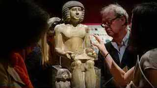 The 4 500-year-old statue of a scribe called Sekhemka - sold at auction by Northampton Museum for nearly �16m in July last year - could disappear for good into a wealthy collector's private museum when an export ban imposed on it expires at the end of this month.