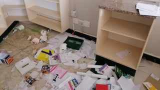 The Afromed Pharmacy in KwaMashu, KZN, was vandalised during the looting but is slowly being restored to its former glory by owner Siyanda Kamanga, who footed the bill for the repairs. File image.