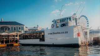 The Alba is South Africa's first and only fine-dining, floating restaurant, seating 72 people in comfort and measuring 22 metres in length with a six metre beam