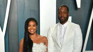 The 'Being Mary Jane' star celebrated seven years of marriage to Dwyane on Monday. Picture: Bang Showbiz