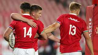 The British and Irish Lions got their tour of South Africa off to a winning start. Photo: EPA/STR