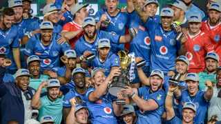 The Bulls celebrate winning the Currie Cup. Photo: Christiaan Kotze/BackpagePix