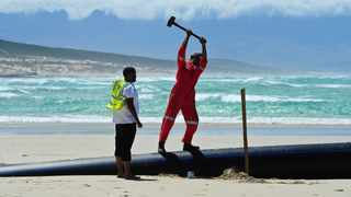 The City of Cape Town advised the public that sections of Monwabisi beach will be temporarily closed this week. Picture: Henk Kruger/ANA