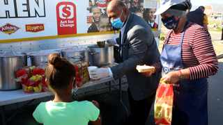 The City of Cape Town has approved R10 million in food relief for the most vulnerable communities affected by Covid-19 and has committed a further R15 million for its second phase of assisting residents. Picture: Brendan Magaar/African News Agency(ANA)