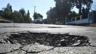 The City received a total of 35 954 pothole notifications between January 2020 and March 2021 – 28 108 of those notifications were completed. File picture: African News Agency(ANA)