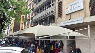 The Department of Home Affairs offices in Pretoria. Picture: Bongani Shilubane/African News Agency (ANA)