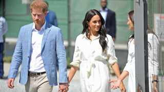 The Duke and Duchess of Sussex visits the YES4youth centre in Tembisa in October 2019. Picture: Timothy Bernard/African News Agency(ANA)