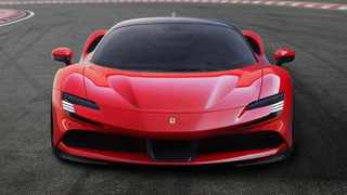 The Ferrari SF90 Stradale plug-in hybrid kicks off Ferrari's electrified era, but fully-electric cars are set to follow from 2025.