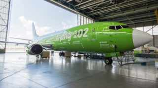 The Flying 102 aircraft that gives South Africans the 101 when it comes to parts of the plane. Photo: Supplied