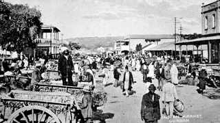 The Indian Market in Durban. Picture: Supplied