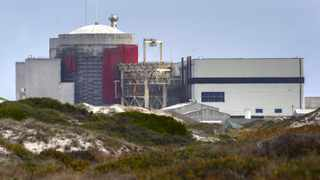 The Koeberg nuclear power station on the West Coast, outside Cape Town. Photo: Nic Bothma