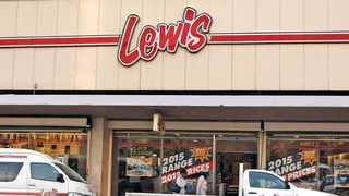 The Lewis Group said 58 of its stores were looted and damaged last week during the widespread violence and looting in KwaZulu-Natal and parts of Gauteng. Photo: Simphiwe Mbokazi