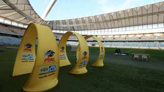 The MTN8 finaal between Cape Town City FC and AmaZulu will be played at the Moses Mabhida Stadium. Picture: Samuel Shivambu/BackpagePix