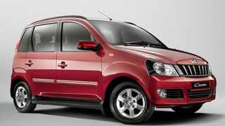 The Mahindra Quanto measures less than four metres in length.