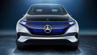 The Mercedes-Benz Generation EQ Concept is a taste of the company's electrified future.