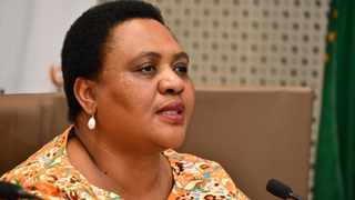 The Minister of Agriculture, Land Reform and Rural Development, Ms Thoko Didiza.